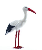 Hansa Stork, Adult 27.5'' (3516)