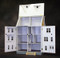 Real Good Toys 1/2 Scale Front Opening East Side Townhouse Unfinished Dollhouse Kit (H330) - Inside View