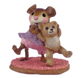 Wee Forest Folk Miniature - Dancing Bear (M-375)