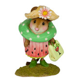 Wee Forest Folk Miniature -  Watermelon Cupcake Treat Limited Edition (M-574j)