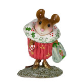 Wee Forest Folk Miniature - Christmas Cupcake Treat (M-574d) Limited Edition