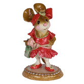 Wee Forest Folk Miniature - Flapper Franny (M-328-Red)