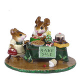 Wee Forest Folk Miniature - Mouseys Christmas Bake Sale (M-220-XMAS)