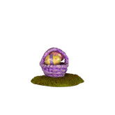 Wee Forest Folk Miniature - Tiny Easter Basket (A-36)