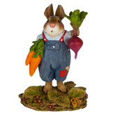Wee Forest Folk Miniature - Mr. Harvest Bunny (B-20)