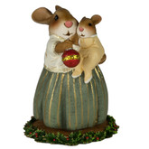 Wee Forest Folk Miniature - Baby Bunny's First Christmas (B-21)
