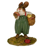 Wee Forest Folk Miniature - Johnny Apple Bunny (B-23)