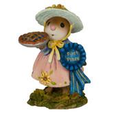 Wee Forest Folk Miniature - First Prize Pie (M-321d)