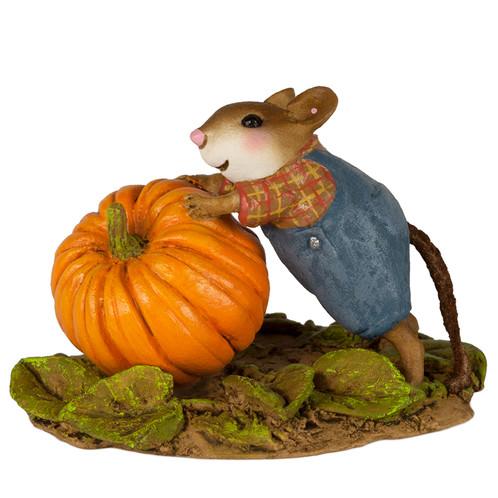 Wee Forest Folk Miniature - Pumpkin Patch Work (M-614)