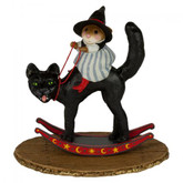 Wee Forest Folk Miniatures - Cat & Mouse Game