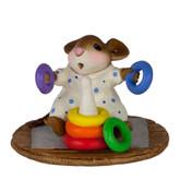 Wee Forest Folk Miniature - Rainbow Rings Boy (M-595c)
