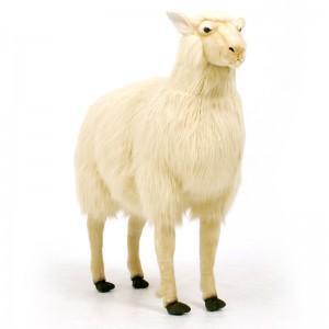 "Hansa Sheep, Life Size Bone 42"" x 36'' (3660)"