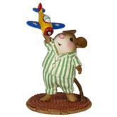 Wee Forest Folk Miniature - Taking Flight (M-596-Striped)