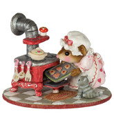 Wee Forest Folk Miniature - Lovin' the Oven! (M-604)