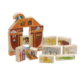 Maple Landmark Noah's Ark Block Set