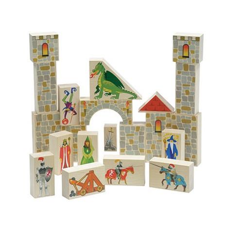 Maple Landmark Castle Block Set