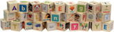 Maple Landmark Letter Picture Blocks