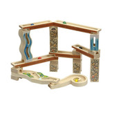 Maple Landmark Gold Rush Marble Track Set