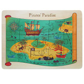 Maple Landmark Pirates' Paradise Jigsaw Puzzle, 15 Pieces