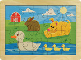 Maple Landmark Duck Pond Jigsaw Puzzle, 20 Pieces