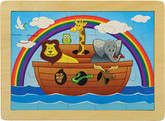 Maple Landmark Noah's Ark Jigsaw Puzzle, 20 Pieces