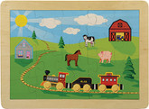 Maple Landmark Countryside Railroad Jigsaw Puzzle, 20 Pieces