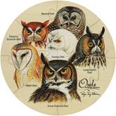 Maple  Landmark Owls Shaped Jigsaw Puzzle, 12 Pieces