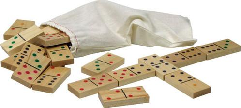 Standard Dominoes by Maple Landmark