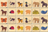 Memory Tiles, Animals by Maple Landmark