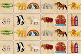 Memory Tiles, Noah's Ark by Maple Landmark