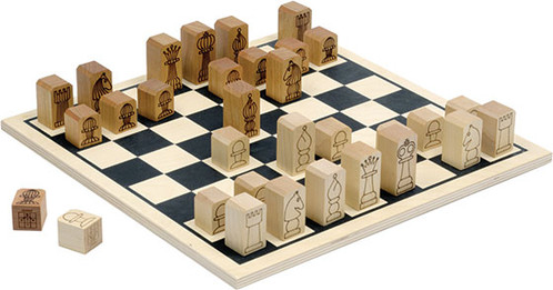 Basic Chess Set by Maple Landmark