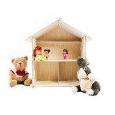 American Toyworks Tiny Wooden Dollhouse