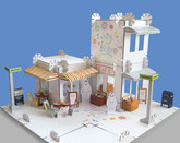 City Stories Deluxe Modular Cardboard Design and Build Set