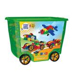 Clics Build & Play Rollerbox Construction Set, 600 Pieces