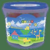 Clics Junior Bucket Construction Set, 158 Pieces