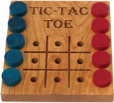 Tic-Tac-Toe, Deluxe Cherry by Maple Landmark (50110)