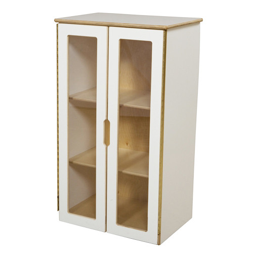 My Cottage Play Kitchen Hutch, White - Endeavour Toys