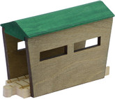 Wooden Train Track Covered Bridge Set By Maple Landmark (10570)