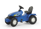 New Holland Farm Tractor Pedal Car (ROL-036219)