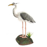 Hansa Great Blue Heron with Stand, 28'' (6774)