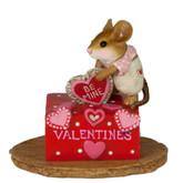 Wee Forest Folk Miniatures - Her Secret Valentine Box (M-189c)