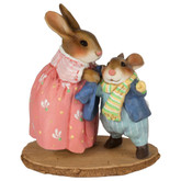 Wee Forest Folk Miniatures - Bundle Up Bunny (B-26)