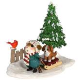 Wee Forest Folk Miniatures - Puppy Love (M-418b)