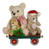 Wee Forest Folk Miniatures - Teddy Trolley (M-453l)