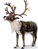 "Hansa Nordic Reindeer, Life Size 65''H x 58""L (6875)"
