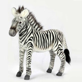 "Hansa Grevy's Zebra, Medium 14"" Tall (5153)"