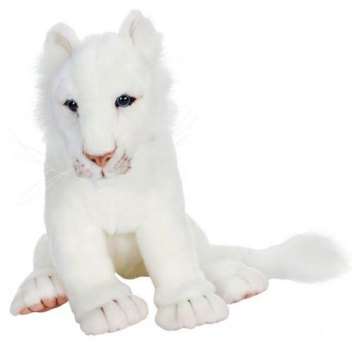 "Hansa White Lion Cub, 14"" Long (5237)"