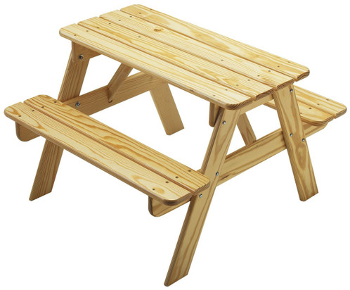 Little Colorado Child's Picnic Table - Natural