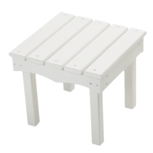 Little Colorado Adirondack End Table - White