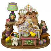 Wee Forest Folk Miniature - Happiest Easter! (M-412sss)